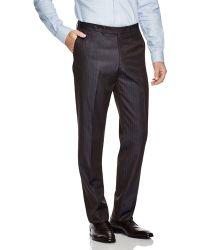 Eidos - Solaro Striped Regular Fit Trousers - Lyst
