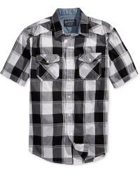 American Rag Williams Plaid Shirt - Lyst