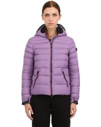 Ai Riders On The Storm Nylon Micro Ripstop Down Jacket - Lyst