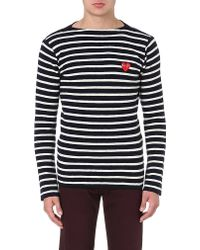 Comme Des Garçons Fitted Wool Jumper - For Men - Lyst