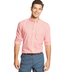 Tommy Hilfiger Twain Checked Classic-fit Shirt - Lyst