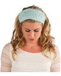 Elizabeth Koh - Mint Lace Headband - Lyst