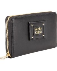 See By Chloé Long Ziparound Wallet - Lyst