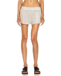 Chloé Calzoncino Cotton Short - Lyst