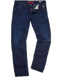 Replay Zelan Denim Jeans Regular Straight Fit - Lyst