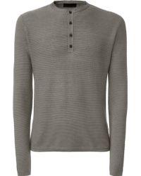 Iris Von Arnim Sweater Bono gray - Lyst