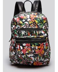 Ash - Danica Floral Leather Backpack - Lyst