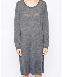 Selected Costa Sweater Dress - Lyst