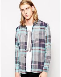 Cheap Monday Shirt Check - Lyst