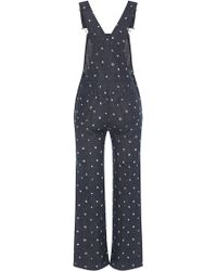 Manoush - Printed Wide Leg Jumpsuit - Lyst