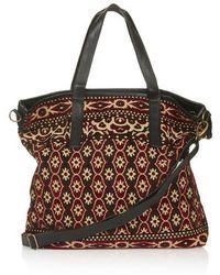 Topshop Tapestry Tote Bag - Lyst