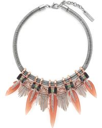 Vince Camuto - Fringed Collar Necklace - Lyst