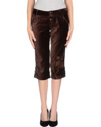 Pepe Jeans 3/4-Length Trousers - Lyst