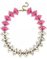 BaubleBar Howlite Botanica Collar - Lyst
