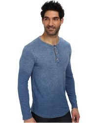Lucky Brand Long Sleeve Henley - Lyst