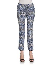Sachin & Babi Aster Printed Drawstring Pants - Lyst