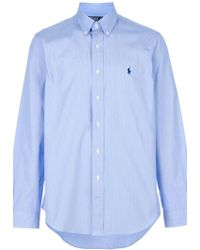 Ralph Lauren Blue Label Cotton Shirt - Lyst