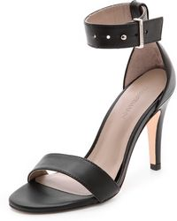 Zimmermann Single Band Sandals - Lyst