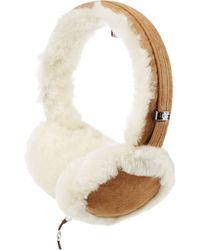 UGG - Classic Wired Shearling Earmuff Headphones - Camel - Lyst