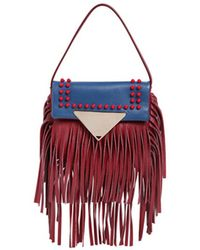 Sara Battaglia | Cutie Fringed Crossbody Bag | Lyst