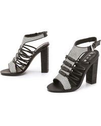 L.A.M.B. - Bedford Sandals - Grey/Black - Lyst