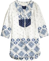 H&M Patterned Tunic - Lyst