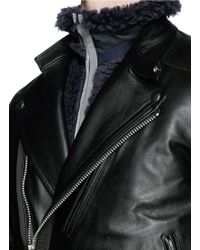 Men S Biker And Leather Jackets Shop Now Lyst
