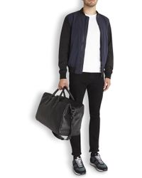 Marc By Marc Jacobs - Black Grained Leather Holdall - Lyst