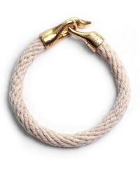 Lulu Frost | George Frost G. Frost Harpoon Bracelet - Ivory | Lyst