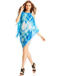 Steve Madden - Triangle Tie Dye Cover Up - Lyst