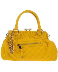Marc Jacobs Yellow Handbag - Lyst