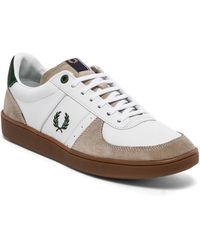 Fred Perry Topspin Leather Suede Sneaker - Lyst