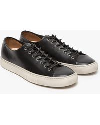 Buttero Tanino Low Leather Sneaker - Lyst