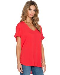 Kain Viola Tunic Top red - Lyst