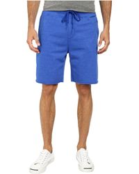 Converse Core Plus French Terry Short blue - Lyst
