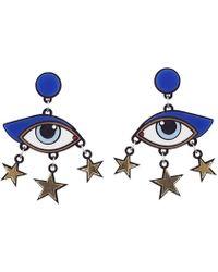 Yazbukey - Bette Davis Eye Earrings - Lyst