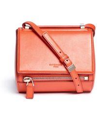 Givenchy Pandora Box Mini Leather Bag - Lyst