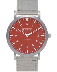 Shore Projects - 'camber' Strap Watch - Lyst