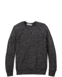 Vince Black Jaspe Sweater - Lyst