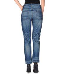 NSF Clothing Denim Trousers blue - Lyst