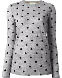 Forte Forte Polka Dot Knitted Top - Lyst