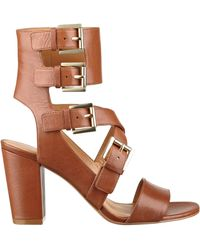 Nine West Brittany Open Toe Sandals - Lyst