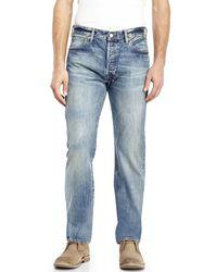 Levi's Light Wash Original Fit 501 Jeans blue - Lyst