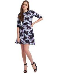 Calla Austin Lily Print Dress