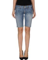 Dondup Denim Shorts - Lyst