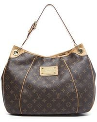 Louis Vuitton Preowned Monogram Canvas Galliera Pm Bag - Lyst