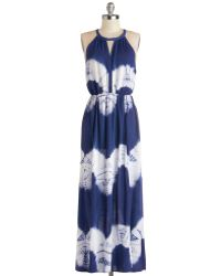 Sunny Girl Pty Lltd Ink Positively Dress in Navy - Lyst