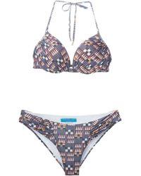 Matthew Williamson Geometric Print Bikini - Lyst