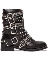 Jeffrey Campbell Black Cruzados Boot - Lyst