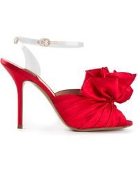 Moschino Bow Front Sandals - Lyst